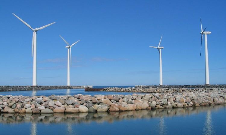 """""""Windkraftanlagen Dänemark gross"""" by Dirk Goldhahn"""